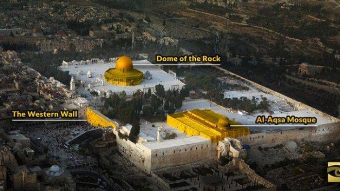 Rahasia Tersembunyi di Balik Tanah Masjid Al Aqsa Buat Israel Halalkan Segala Cara untuk Merebutnya