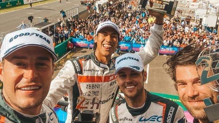 Sean Gelael Harumkan Nama Indonesia, Perdana Ikut Balapan 24 Jam Le Mans dan Berhasil Finis Kedua