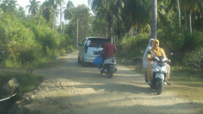 Jalan ke Pantai Wisata Ujong Seuke Peudada belum Tersentuh Aspal, Destinasi Wisata Baru di Bireuen