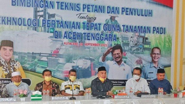 Salim Fakhri Komisi IV DPR RI Berkomitmen Sejahterakan Petani Agara