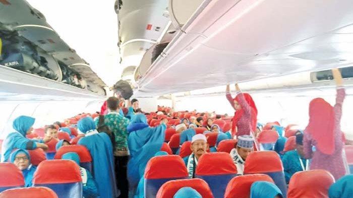 Jamaah Umrah Aceh Tiba Kembali di Tanah Air
