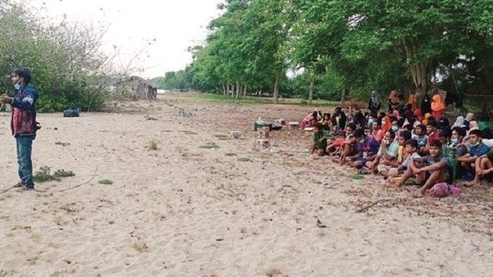 Imigran Rohingya di Aceh Timur, Dibuang Bangladesh Terdampar di Pulau Idaman