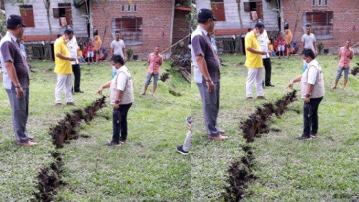 Pemkab Aceh Besar Diminta Relokasi Warga dari Lokasi Tanah Bergerak di Kuta Cot Glie
