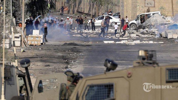 Lima Warga Palestina Meninggal Ditembak Dalam Bentrokan Pasukan Israel dan Hamas di Tepi Barat