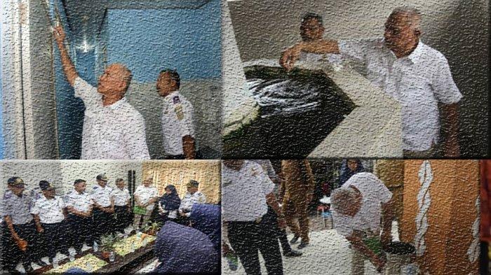Sekda Aceh Bikin Kejutan, Terekam Kamera Bersihkan WC Pelabuhan Ulee Lheue, Begini Kondisinya