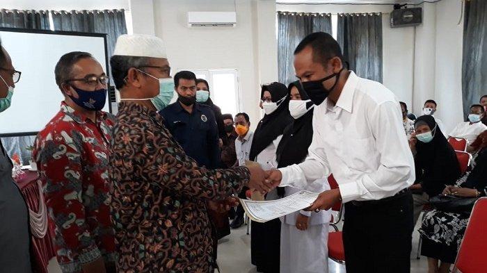 Ratusan PNS Terima SK Kenaikan Pangkat di Pemkab Abdya