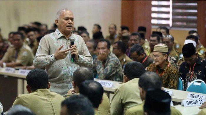 Camat Se-Aceh Ikut Pembekalan Program 'Bereh', Ini Pesan-pesan Sekda Aceh