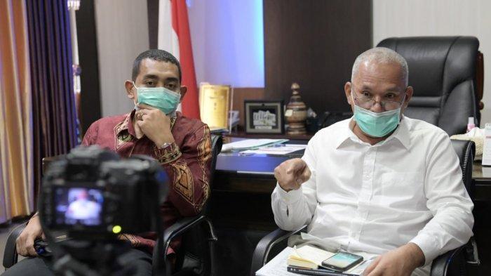 Sekda Paparkan Rancangan Refocusing APBA kepada DPR Aceh