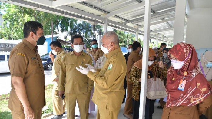 Sekda Aceh Kunjungi Rumah Sakit Rujukan Covid-19 di RSUDZA