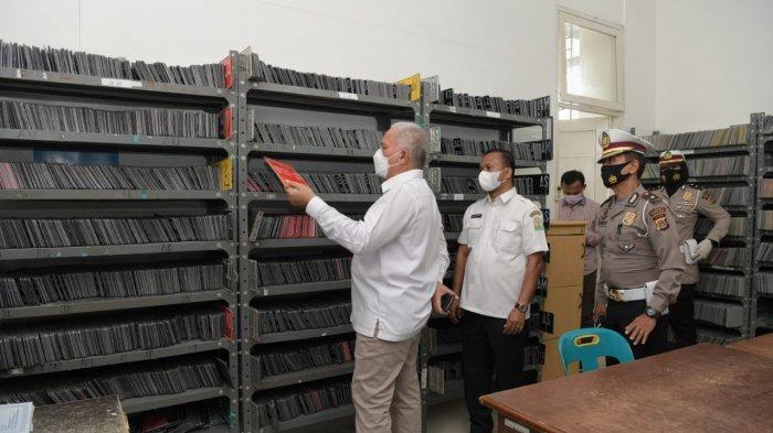 Sekda Aceh Sidak 'Bereh' ke KantorSamsat di Batoh & Lambaro, Ini Pesannya Hingga Soal Kotak Saran