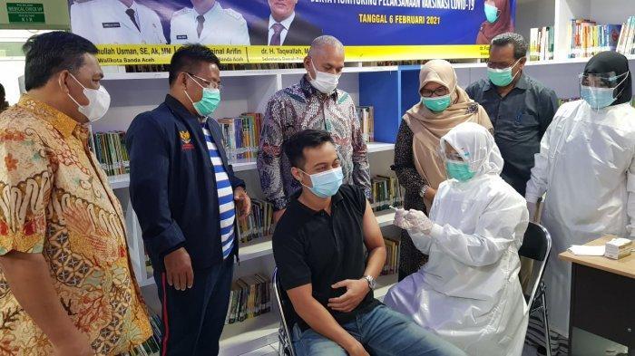 Jumlah Tenaga Kesehatan yang Divaksin Masih Rendah, Sekda Aceh Sidak ke Rumah Sakit di Banda Aceh