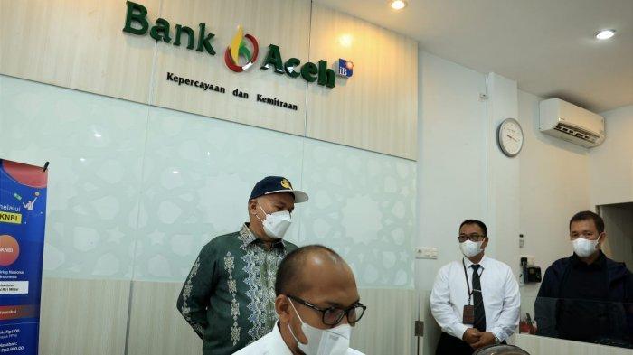 Sekda Pantau BEREH Kantor Bank Aceh Syariah di Kota Sabang