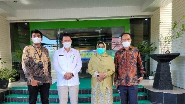 Tindak LanjutiPemasaran Kopi Gayo, Sekda Temui Kepala Kantor DJKN dan Kepala Pajak Wilayah Aceh