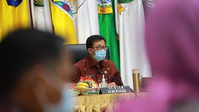 Sekjen Kemendagri Minta Sekda se-Indonesia Sukseskan Pelaksanaan Pilkada Serentak 2020