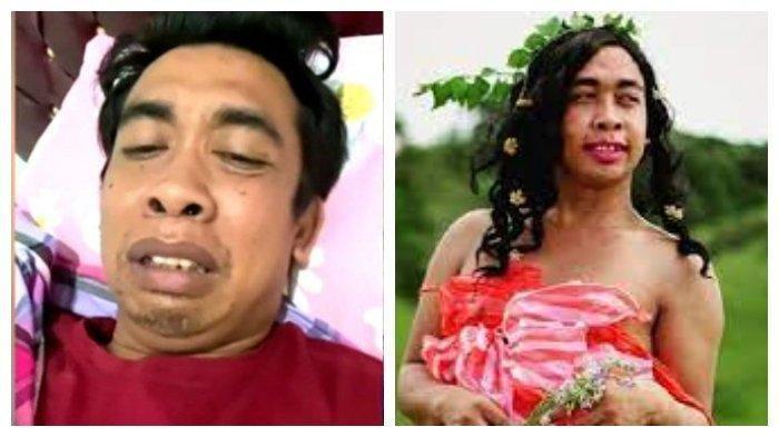 Selebgram asal kendari Sulawesi Tenggara Mimi Peri terbaring sakit.