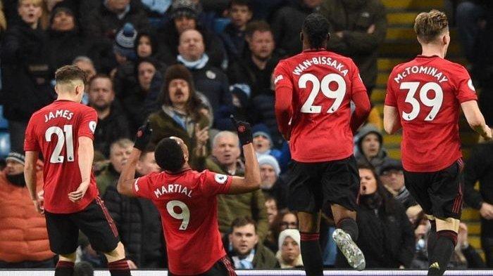 Prediksi Man City vs Man United Piala Liga Inggris, Badai Cedera Landa Setan Merah