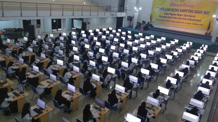 Hasil Ujian, Baru 120 Peserta Seleksi CPNS di Aceh Utara yang Dinyatakan Passing Grade, Ini Sebabnya