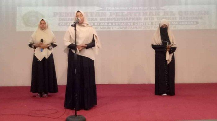Sejumlah Mahasiswa Umuslim Ikut Seleksi MTQ