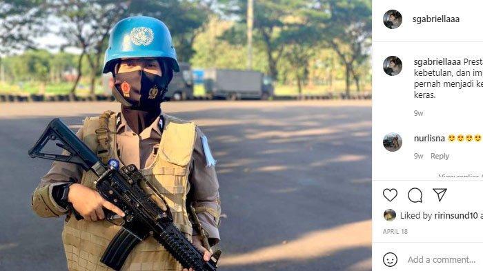 Briptu Selly, Polwan Cantik Korban Tsunami Aceh jadi Anggota Pasukan PBB di Afrika Tengah