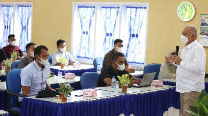 Taqwallah Pompa Semangat Kerja Karyawan BAS Sabang, Minta Rangkul Perusahaan Besar jadi Nasabah