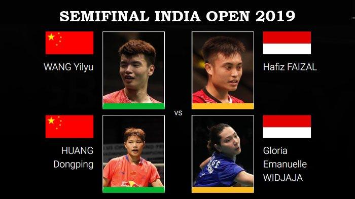 Jadwal Live Streaming Semifinal India Open 2019 Hari Ini - 5 Wakil Indonesia Siap Rebut Tiket Final