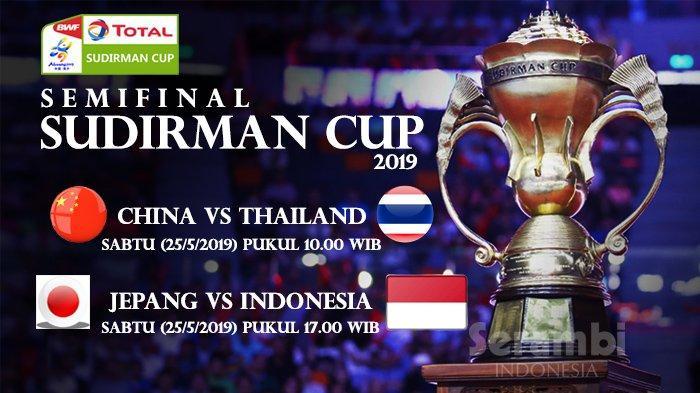Link Live Streaming Semifinal Sudirman Cup 2019 Indonesia Vs Jepang - Marcus/Kevin Awali Perjuangan