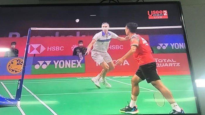 Hasil Thailand Open 2021 - Kalah, Anthony Ginting Harus Relakan Tiket Final Diambil Viktor Axelsen