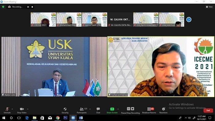 JTMI USK Gelar Konferensi Internasional Secara Virtual, Peserta LN Jadi Partisipan, Bahas Topik Ini