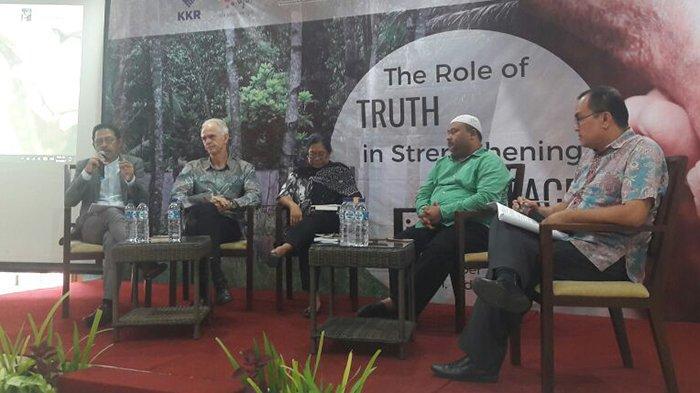 KKR Aceh dalam Konteks Perdamaian Asia Diseminarkan