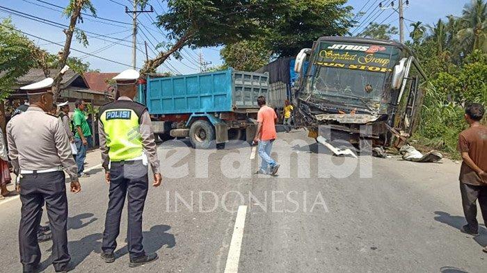 Korban Meninggal dalam Tabrakan Maut Bus Sempati Star di Aceh Timur Jadi 6 Orang, Ini Identitasnya