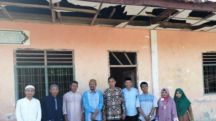 Ke Pedalaman Aceh Timur, Senator Aceh Fadhil Rahmi dengar Curhat Para Guru MTs Alue Seutang