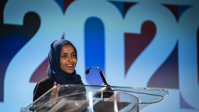 Senator Muslim AS dari Partai Demokrat, Ilhan Omar Terpilih Lagi, Kalahkan Kandidat Partai Republik