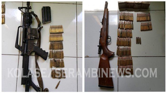 Jual Senjata Api dan Amunisi ke KKB di Papua, 2 Anggota Polisi di Ambon Ditangkap