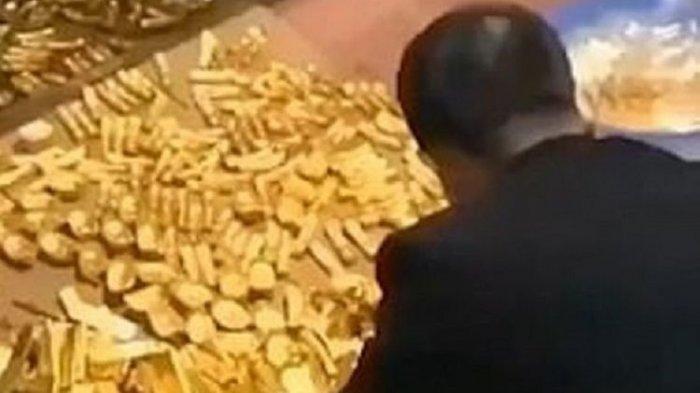 Seorang Pejabat Korup Ditangkap, Sebanyak 13 Ton Emas Batangan Ikut Diamankan