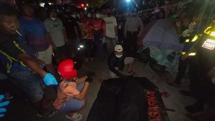 Pemuda Ditemukan Tewas Bersimbah Darah di Jalan, Ada Luka Tusukan, Ini Kesaksian Teman Korban