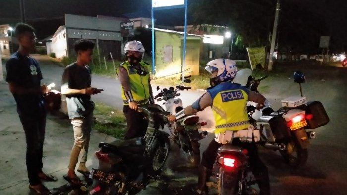 Jelang Ramadhan, Satlantas Polres Bireuen Amankan Sepeda Motor Knalpot Brong