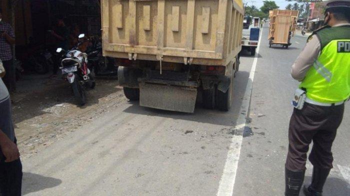 Kecelakaan Maut Terjadi di Aceh TImur, Sepeda Motor Tabrak Panther dan Truk Parkir, Korban Meninggal