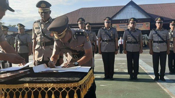 Kasat Reskrim dan Kasat Intelkam Polres Pidie Diganti, Kompol Syahral Kabag Ops