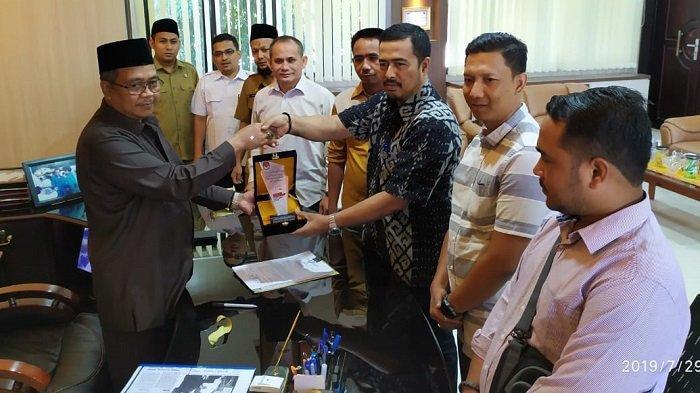 Berkas Calon Anggota DPRK Aceh Barat Terpilih ke Gubernur, Ini Jadwal Pengukuhan