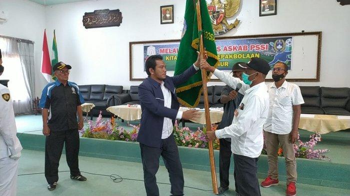 M Adam Ketua PSSI Aceh Timur