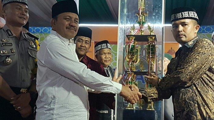 Kafilah Kecamatan Langsa Kota Juara Umum MTQ IX
