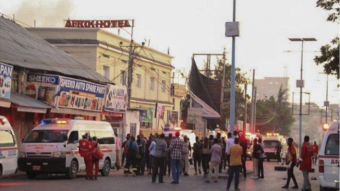 Militan Serang Hotel di Somalia, Terlibat Baku Tembak Dengan Pasukan Keamanan