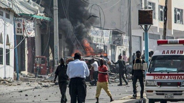 Bom Mobil Guncang Mogadishu, Tiga Orang Tewas