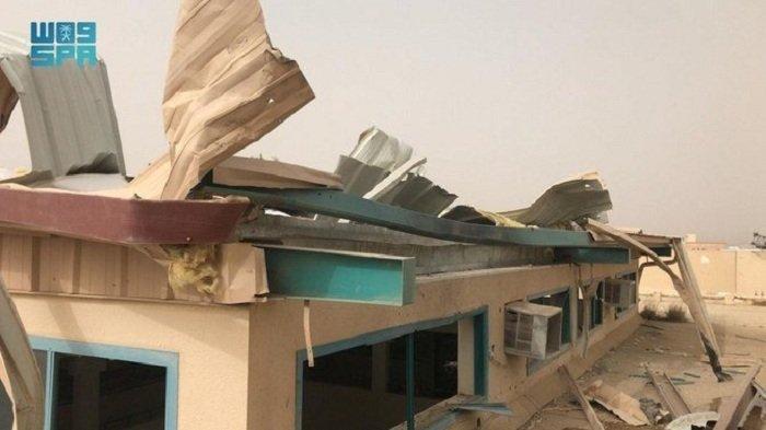 Drone Milisi Houthi Hantam Sekolah di Asir Tidak Ada Korban Jiwa