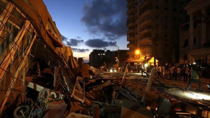 Israel Lakukan Serangan Udara ke Pabrik Amunisi di Jalur Gaza