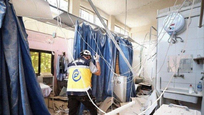 IRC Kutuk Serangan Rudal ke Rumah Sakit Terbesar di Afrin, Seluruh Fasilitas Perawatan Hancur
