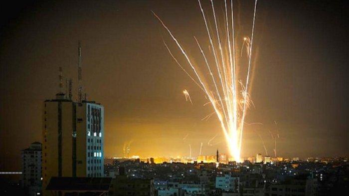 Lagi-lagi, Balon Api Palestina Dibalas Serangan Jet Tempur Israel ke Jalur Gaza