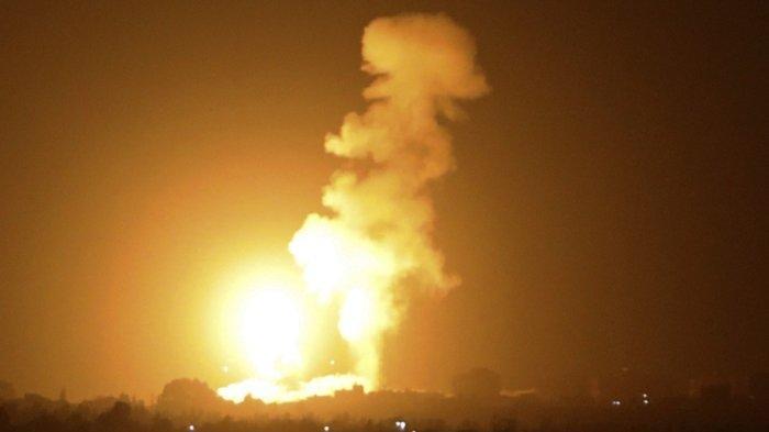 Jet Tempur Israel Gempur Gudang Roket dan Kompleks Militer Hamas di Jalur Gaza