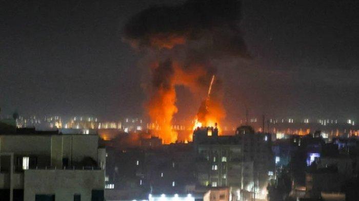 Balon Api Dibalas Serangan Jet Tempur Israel, Hamas Akan Tanggapi Setiap Aksi Yahudi di Jerusalem