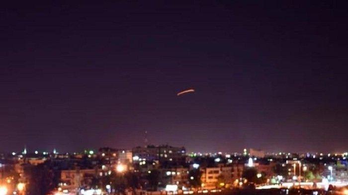 Serangan Rudal Jet Tempur Israel Menghantam Gudang Senjata, Tiga Milisi Iran Tewas di Suriah